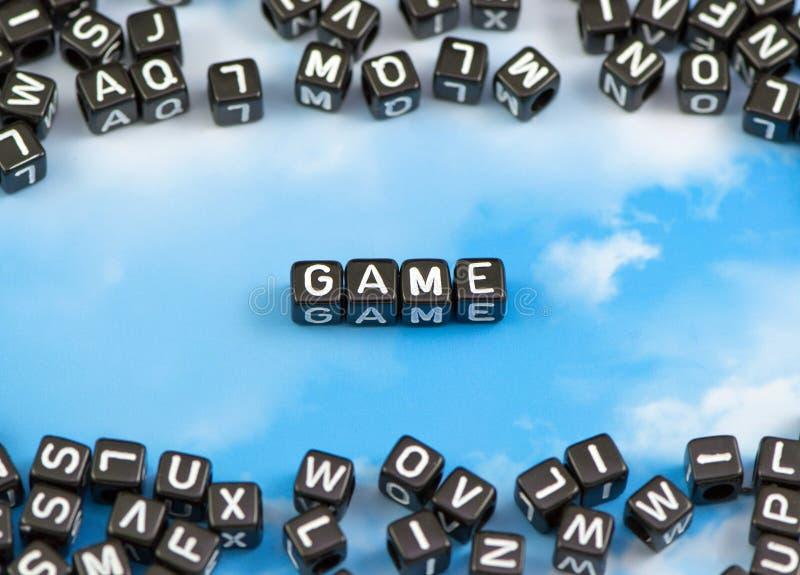Le jeu de mots illustration de vecteur