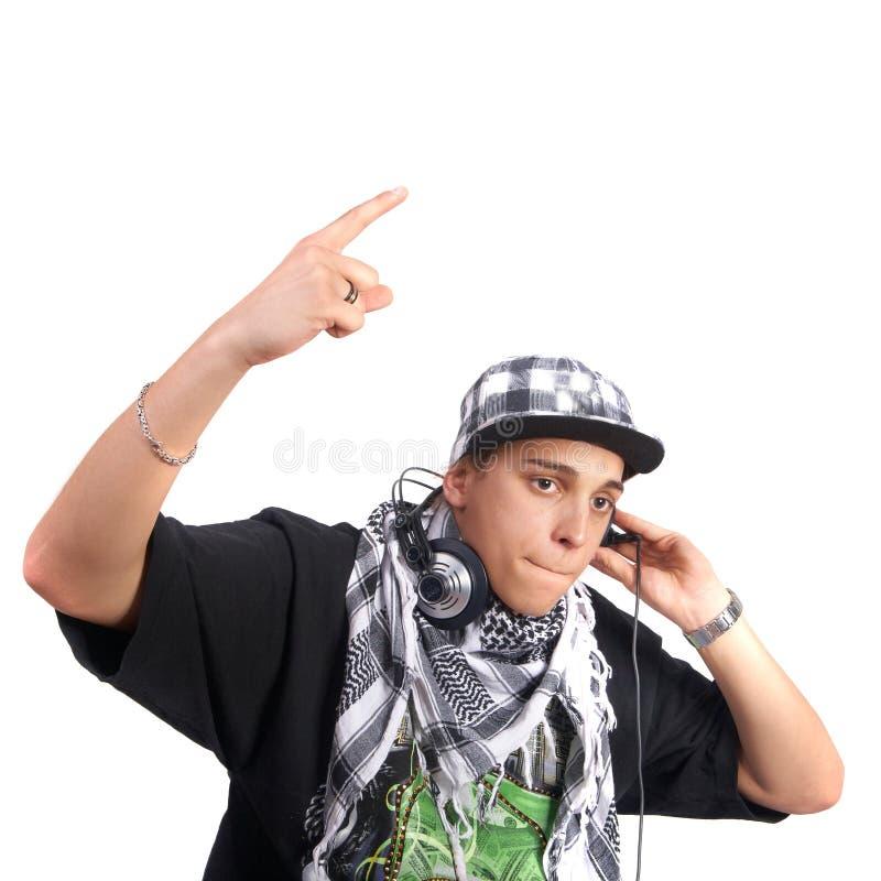 Le jeune DJ élégant photos stock