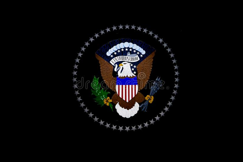 Le joint du Président des États-Unis photos libres de droits