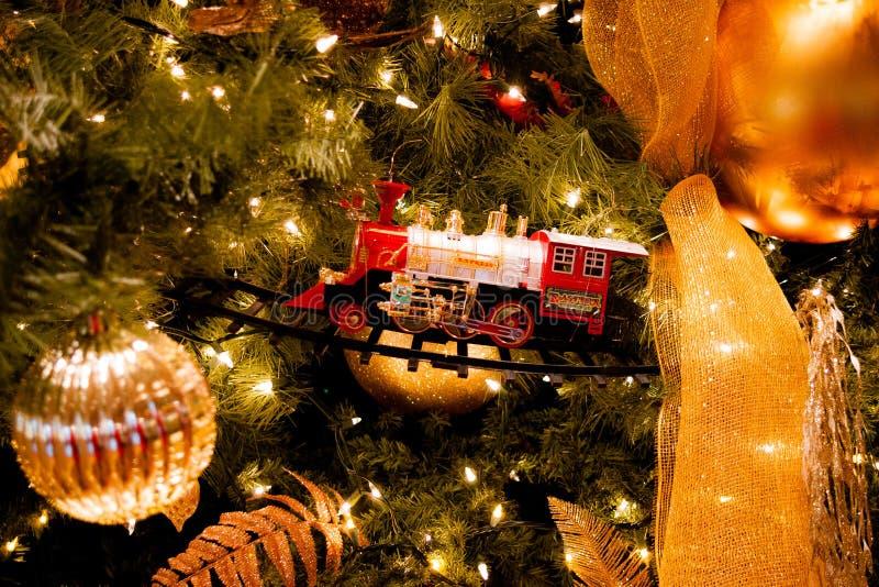 Le jouet exprès polaire pour Noël image libre de droits