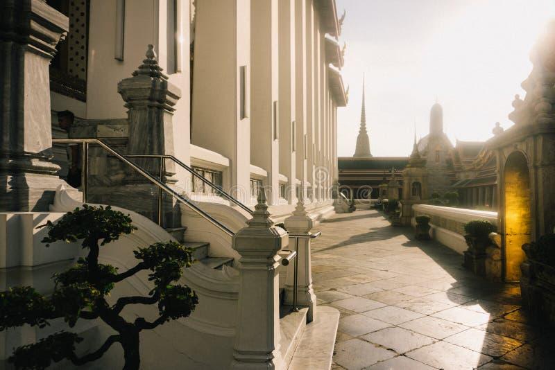Le jour à Bangkok, la Thaïlande, Wat Po Temple photos stock