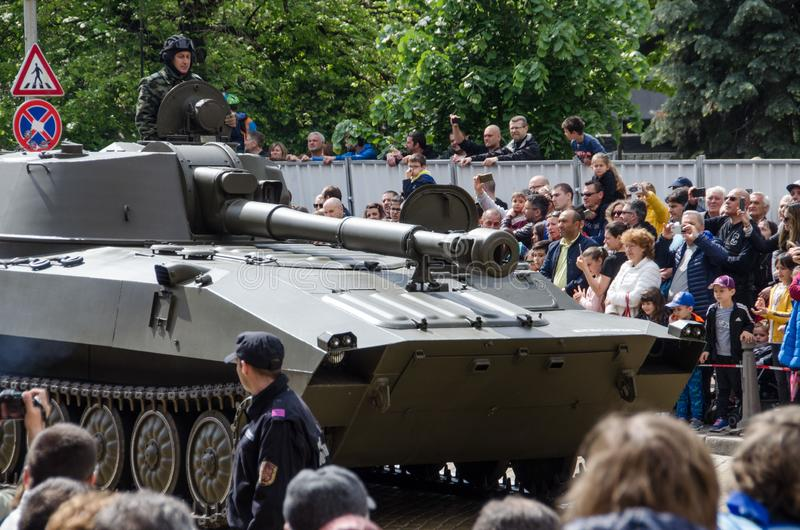 Le jour de bravoure en Bulgarie - 6?me de mai images stock