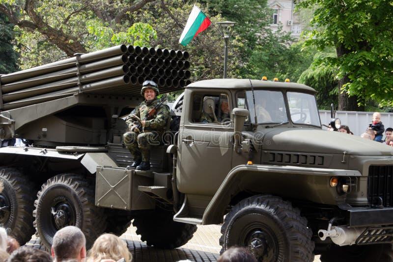 Le jour de bravoure en Bulgarie - 6?me de mai photos libres de droits