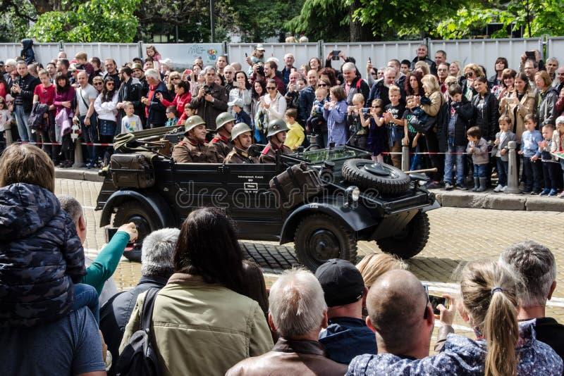 Le jour de bravoure en Bulgarie - 6?me de mai images libres de droits