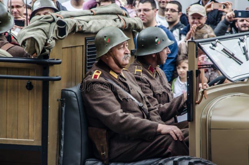 Le jour de bravoure en Bulgarie - 6?me de mai photographie stock libre de droits