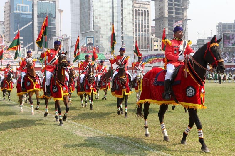 Le Jour de la Déclaration d'Indépendance du Bangladesh photos stock