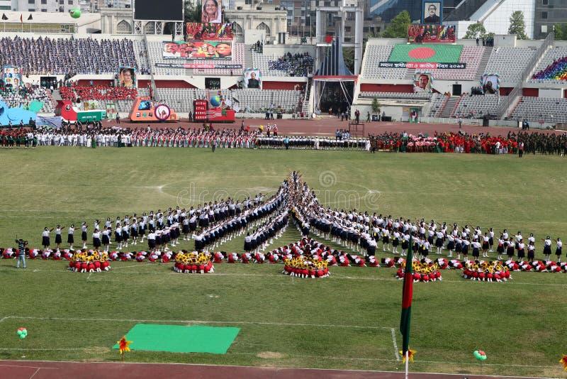 Le Jour de la Déclaration d'Indépendance du Bangladesh image stock
