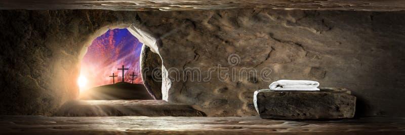 Le jour de résurrection image libre de droits