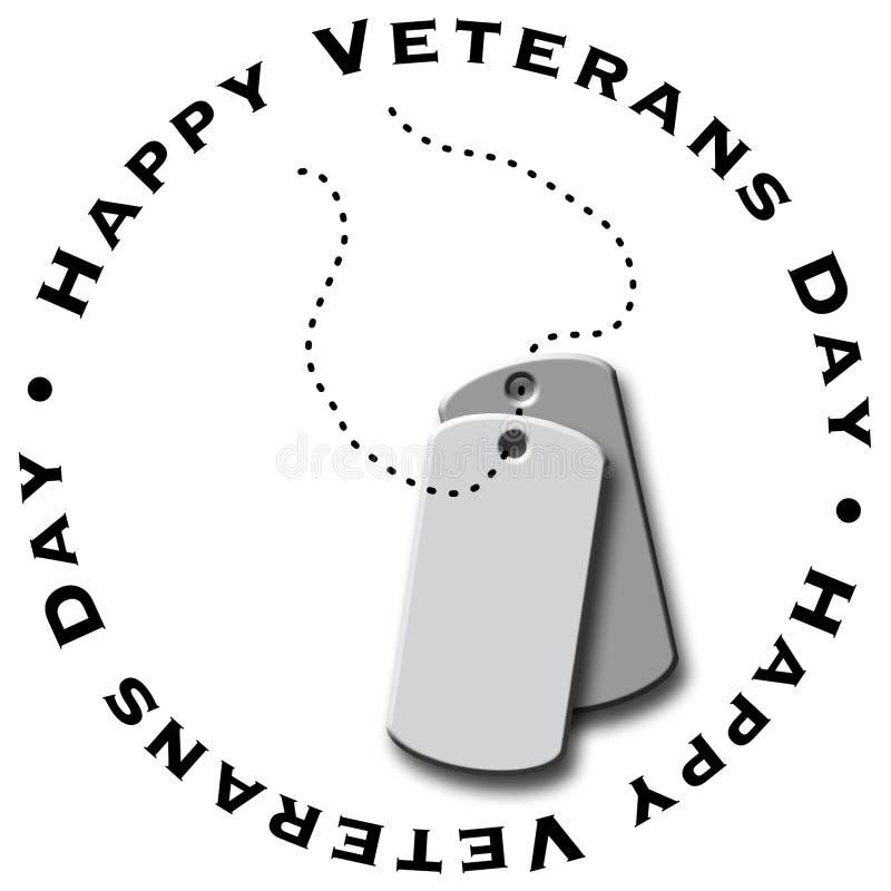 Le jour de vétéran heureux illustration stock
