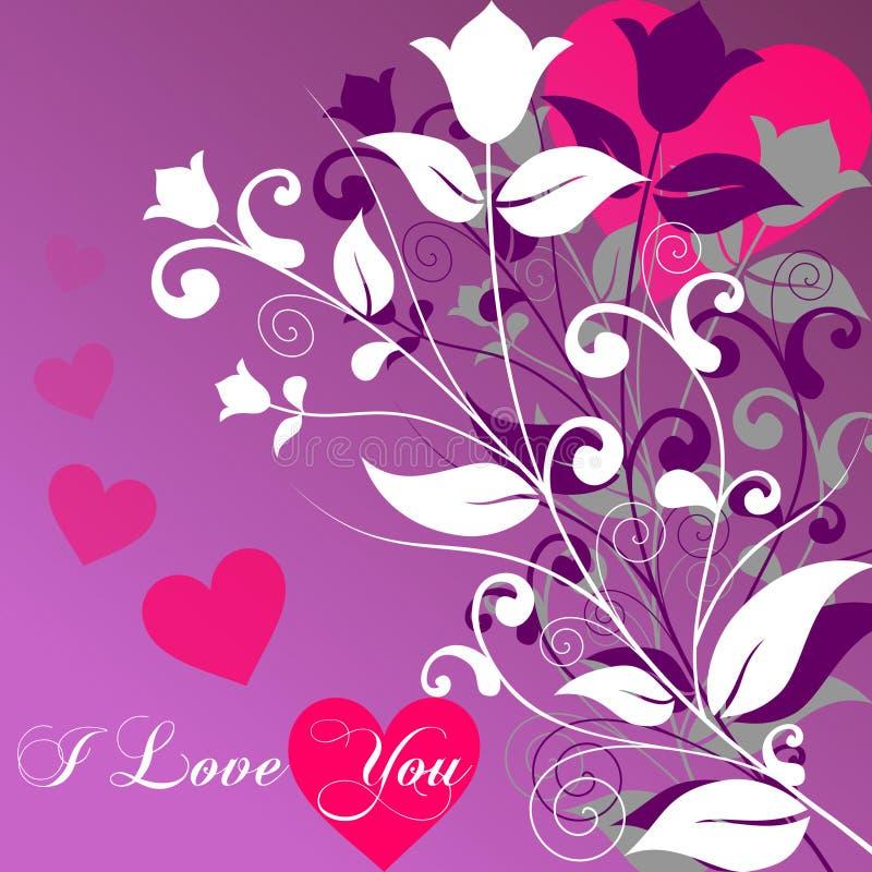 Le jour de Valentine [2 intelligents] illustration de vecteur