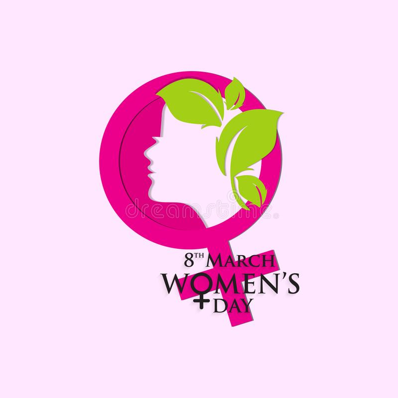 Le jour des femmes pour le respect aux femmes illustration de vecteur