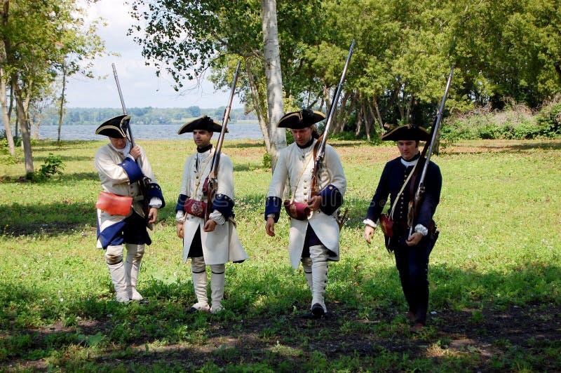 Le jour du fondateur dans Ogdensburg, l'état de New-York images stock
