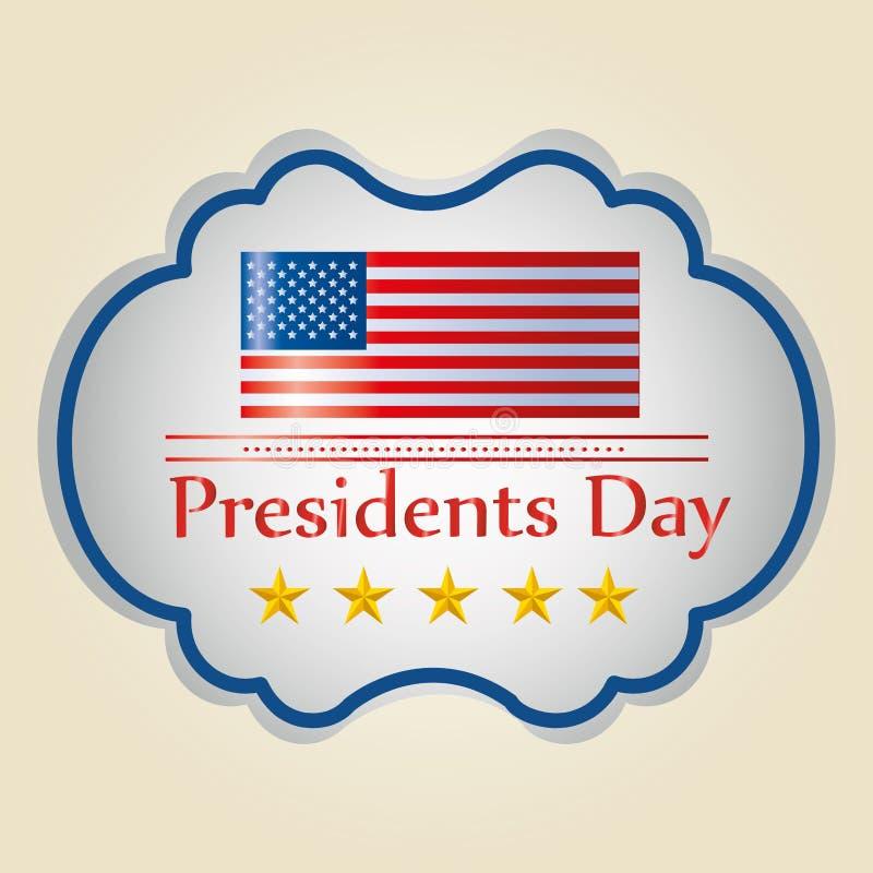 Le jour du président illustration libre de droits