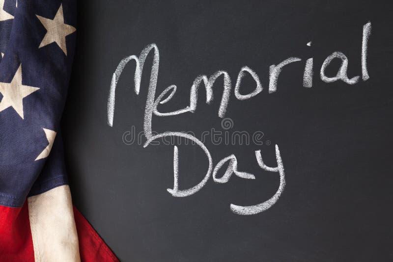 Signe de Jour du Souvenir photos stock