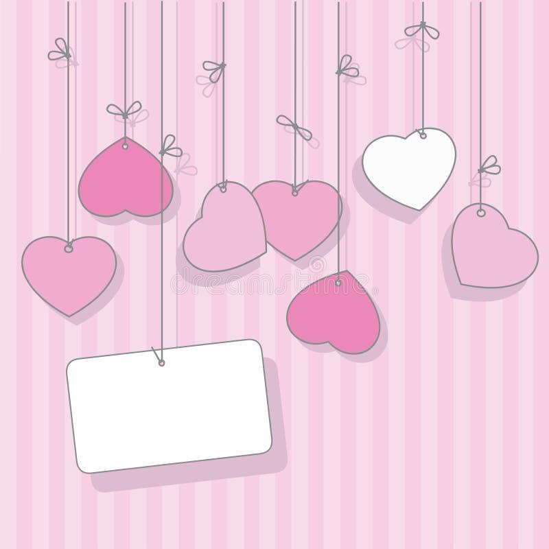 Le Jour Heureux De Valentine Photo stock