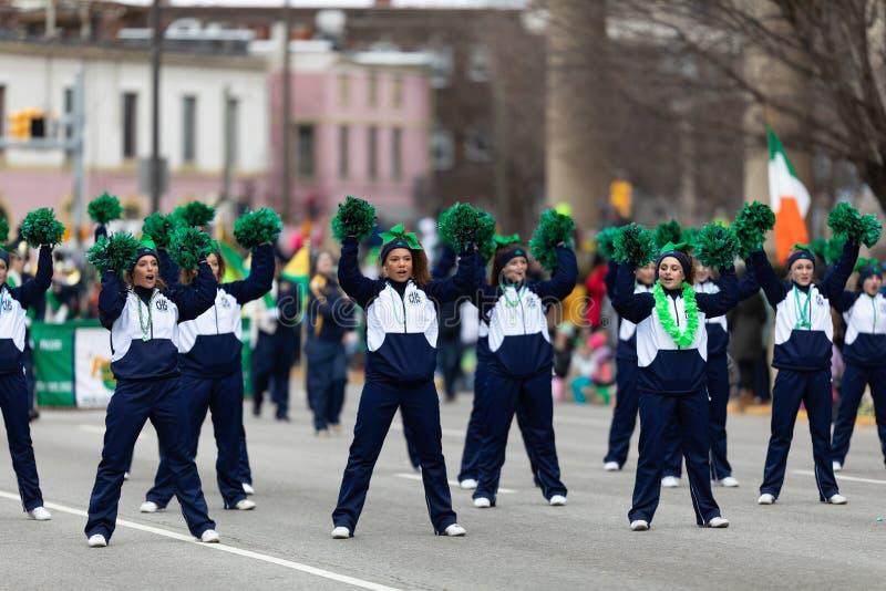Le jour Indianapolis de St Patrick photo stock