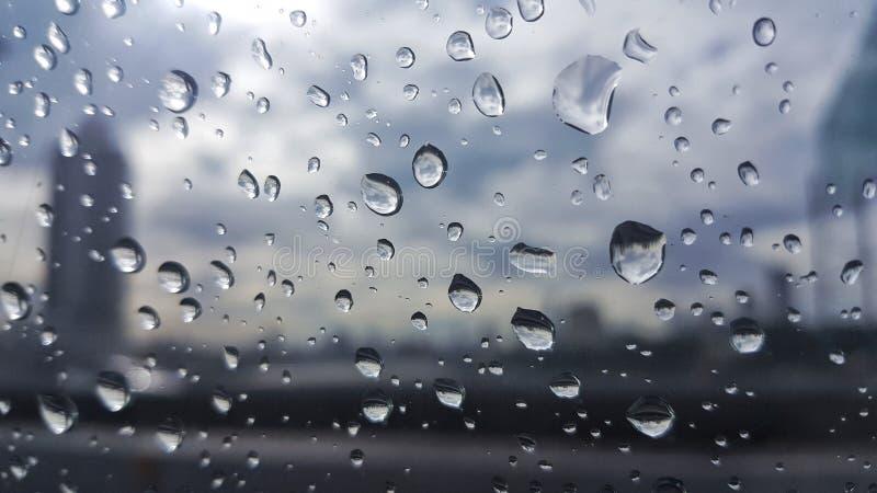 Le jour pluvieux image libre de droits