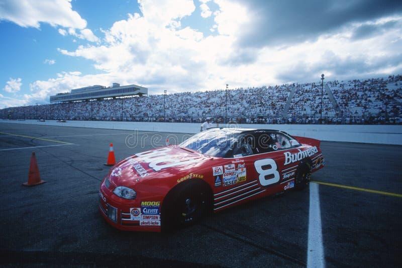 Le Jr Conducteur de NASCAR photographie stock
