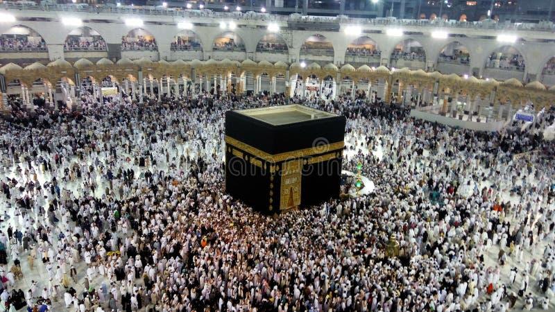 Le Kaaba saint, Makkah, Arabie Saoudite images libres de droits