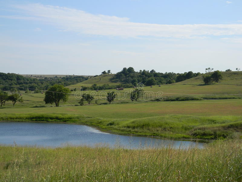 Le Kansas rural photographie stock
