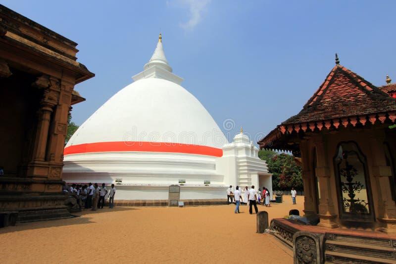Le Kelaniya Raja Maha Vihara photographie stock libre de droits