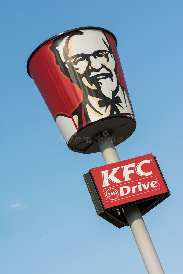 Le Kentucky Fried Chicken Restaurant photos stock