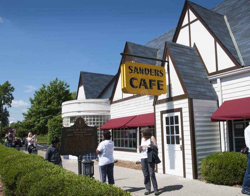 Le Kentucky original Fried Chicken Cafe en Corbin Kentucky Etats-Unis photo libre de droits