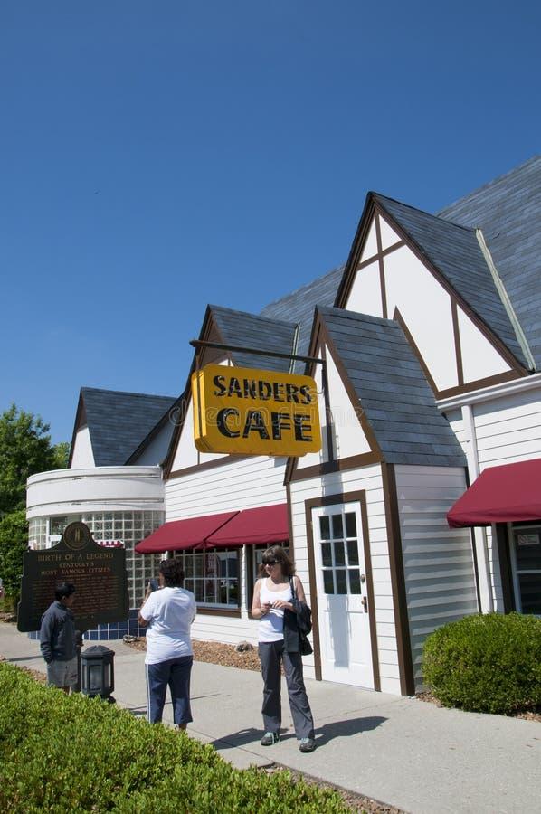 Le Kentucky original Fried Chicken Cafe en Corbin Kentucky Etats-Unis photos libres de droits