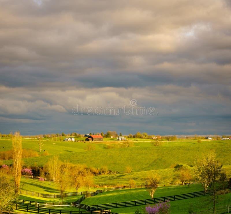 Le Kentucky rural photographie stock