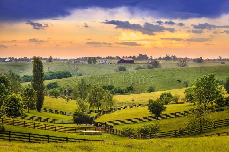 Le Kentucky rural images libres de droits