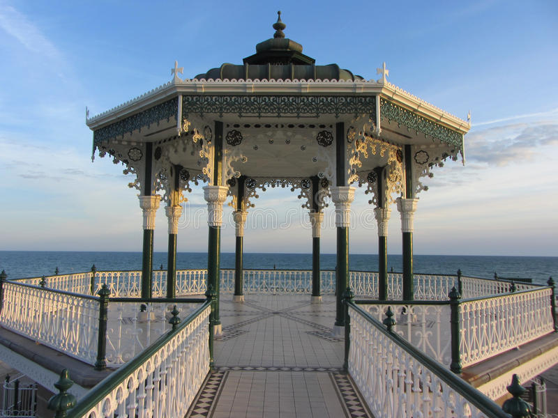 Le kiosque à musique, Brighton, Angleterre, R-U photos libres de droits