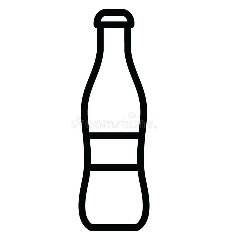 Le kola a isol? l'ic?ne de vecteur qui peut facilement modifier ou ?diter illustration libre de droits