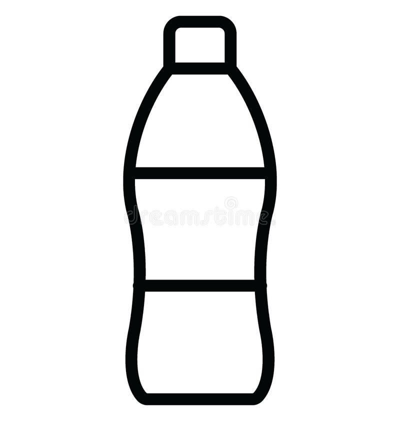 Le kola a isol? l'ic?ne de vecteur qui peut facilement modifier ou ?diter illustration stock