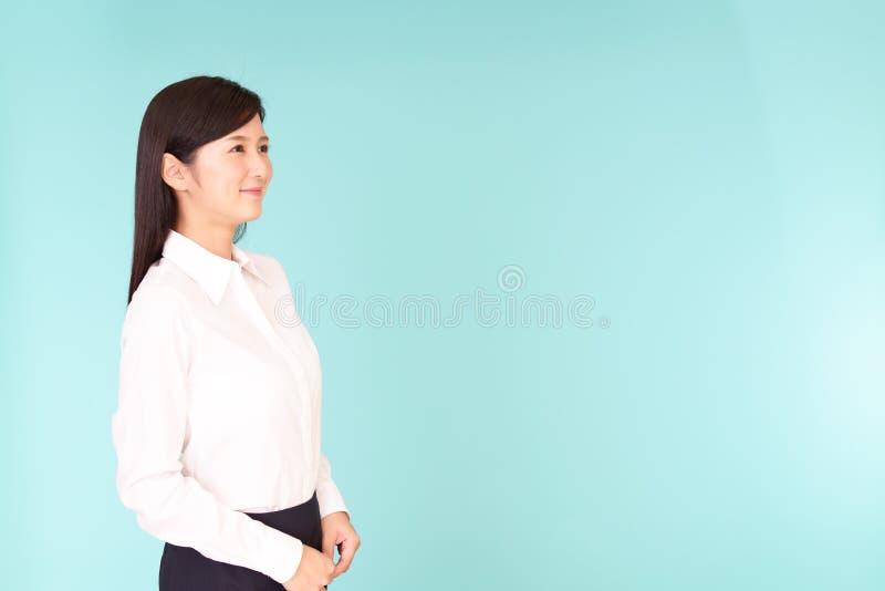 le kvinna för affär royaltyfri fotografi