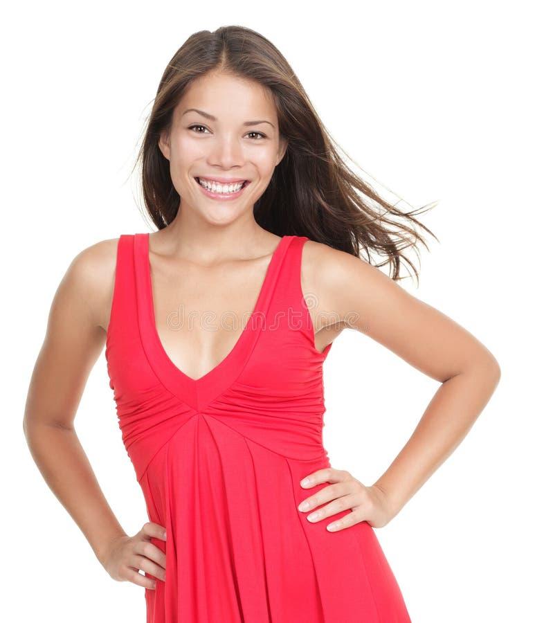 le kvinna för asiatisk skönhet royaltyfri foto
