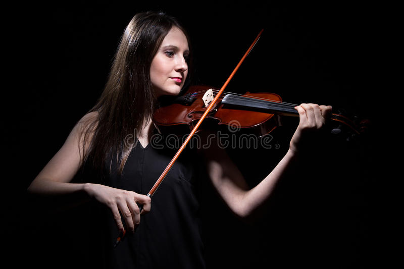 Le kvinnan som spelar på lurendrejeri royaltyfri foto