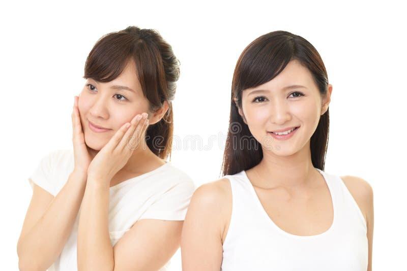 le kvinnor för asiat royaltyfri bild