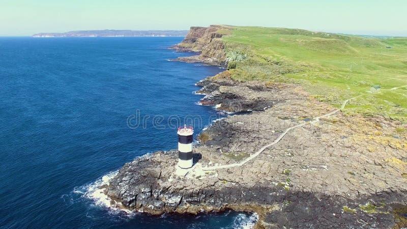 ?le l'Oc?an Atlantique Antrim Irlande du Nord de Rathlin photos stock