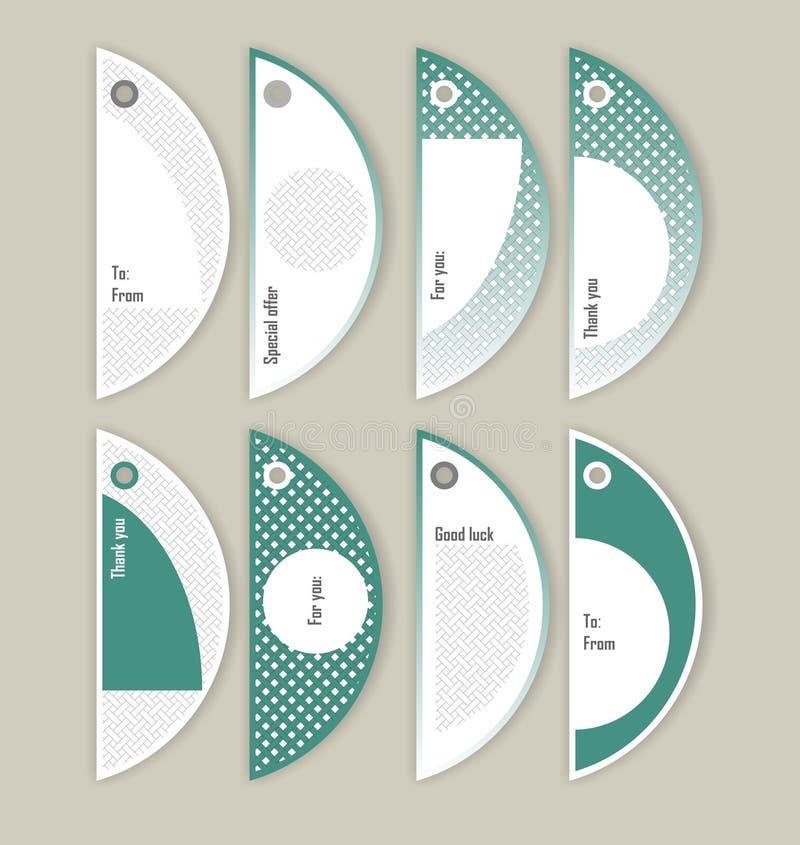 Le label est conçu pour des choses de production et de ménage illustration stock