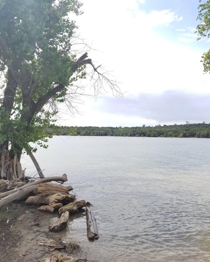 Le lac photo stock