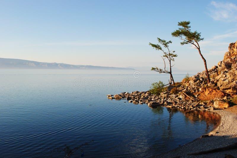 Le lac Baïkal photographie stock