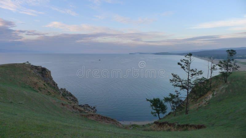 Le lac Baikal image libre de droits