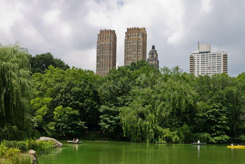 Le lac de Central Park New York City images stock