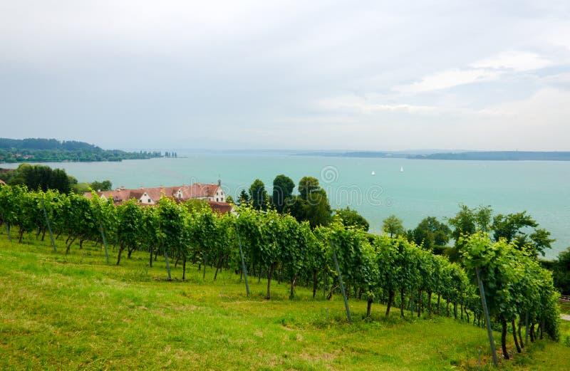Le Lac de Constance images libres de droits