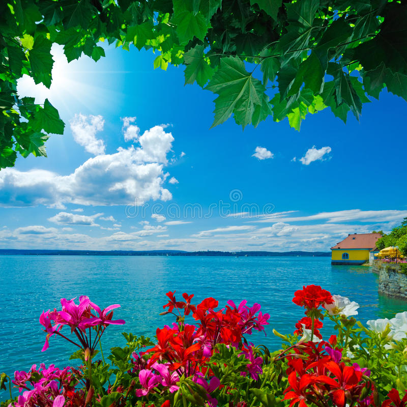 Le Lac de Constance photographie stock libre de droits