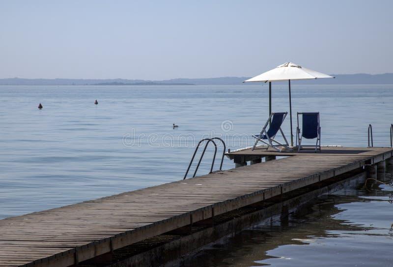 Le lac garda images libres de droits