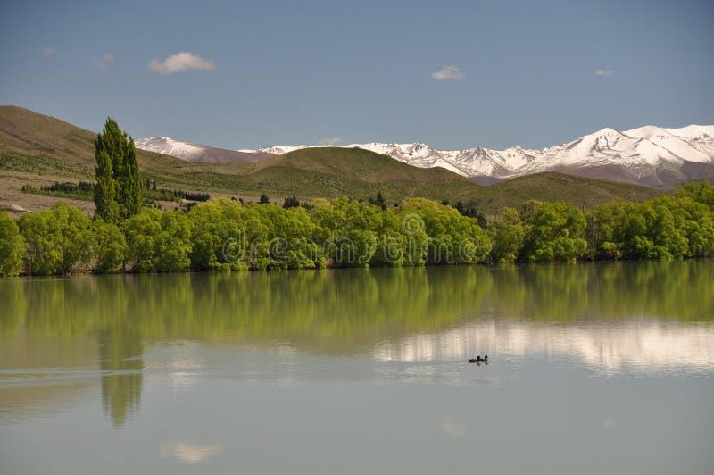 Le lac immaculé image stock