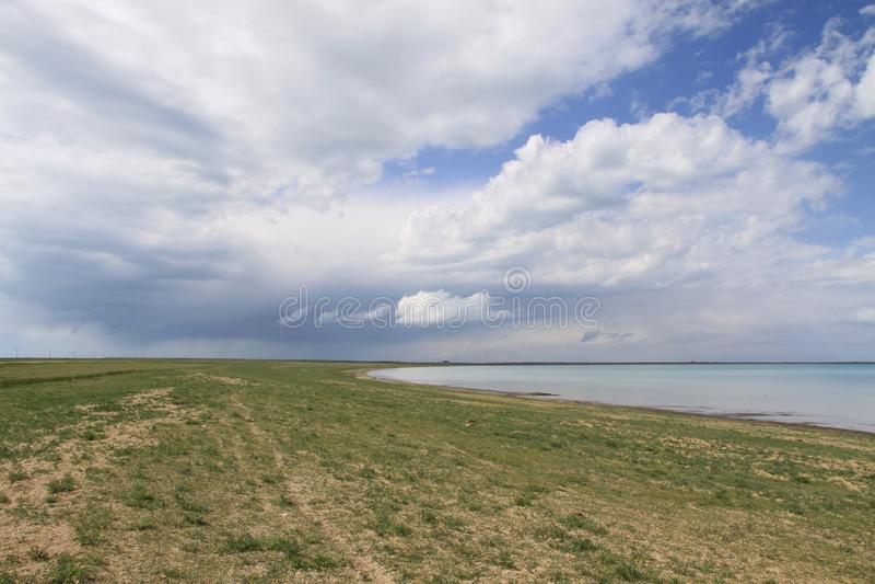 Le Lac Qinghai photos libres de droits