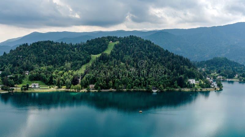 Le lac a saigné photographie stock libre de droits