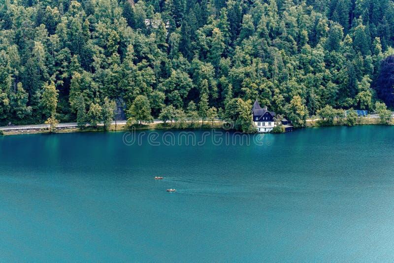 Le lac a saigné image stock